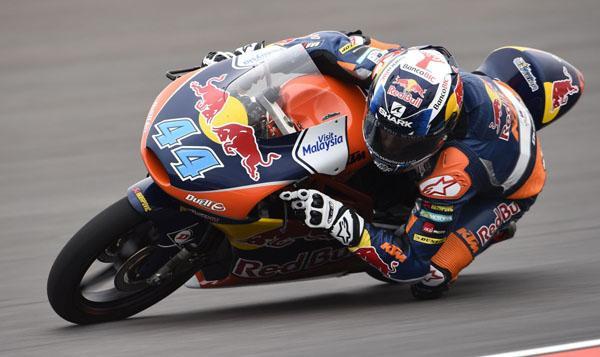 Clasificación Moto3 GP de Argentina 2015: pole de Oliveira