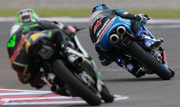Parrilla de salida Moto3 GP de Argentina 2015