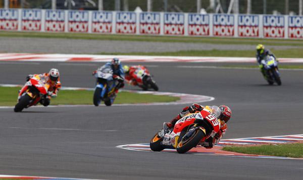Parrilla de salida MotoGP GP de Argentina 2015