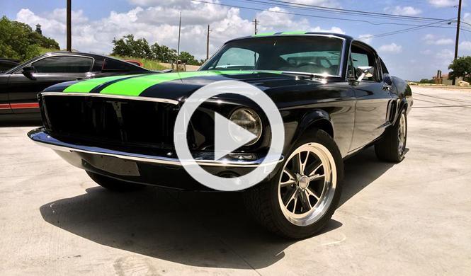 Zombie 222, un Mustang clásico y eléctrico con ¡800 CV!