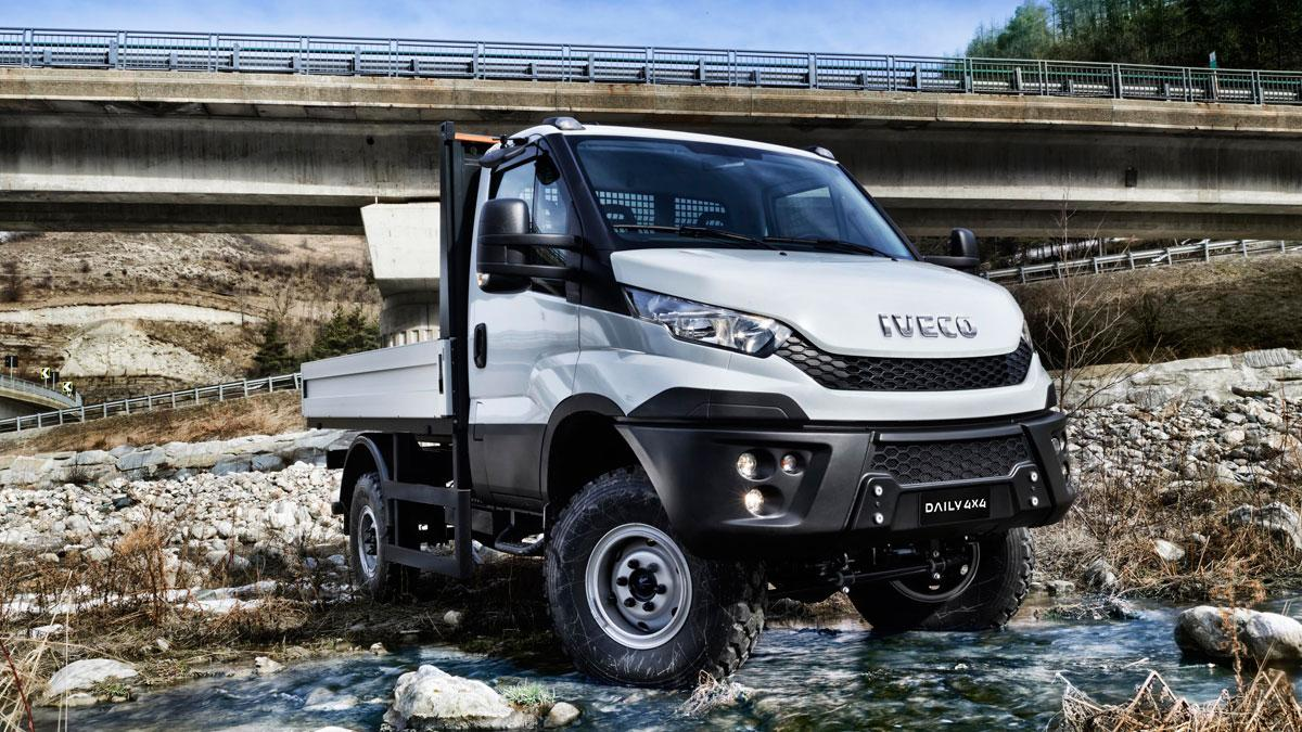 nuevo iveco daily 4x4 duro rival para el unimog. Black Bedroom Furniture Sets. Home Design Ideas