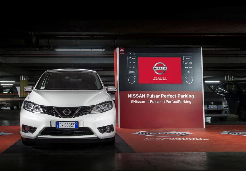 Nissan reto al aparcamiento perfecto