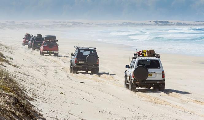 La Policía australiana utiliza radares en las playas