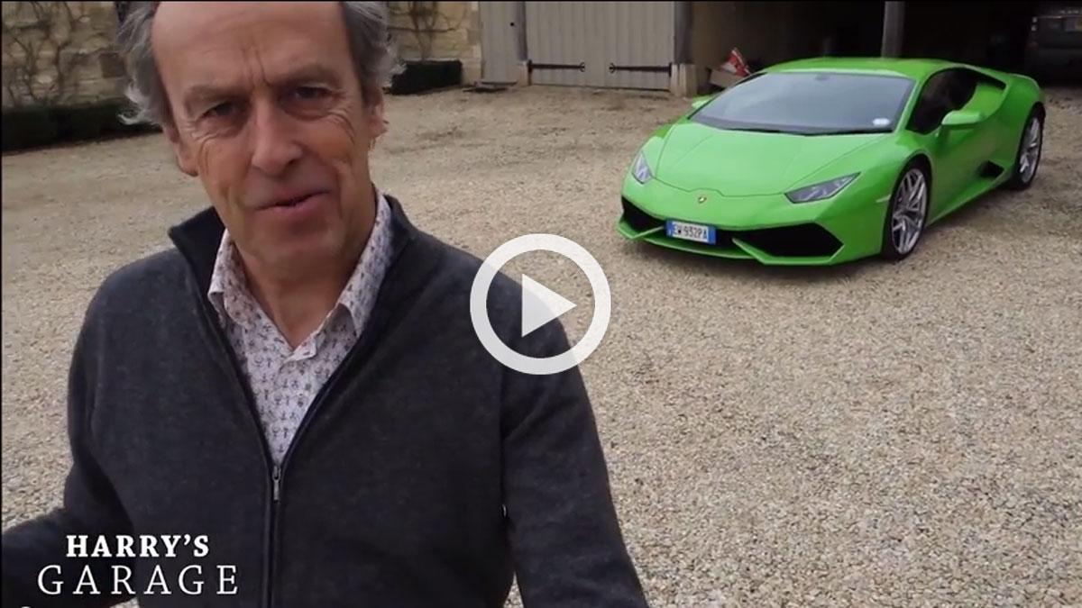 ¿Puede un Lamborghini Huracan con un Countach?