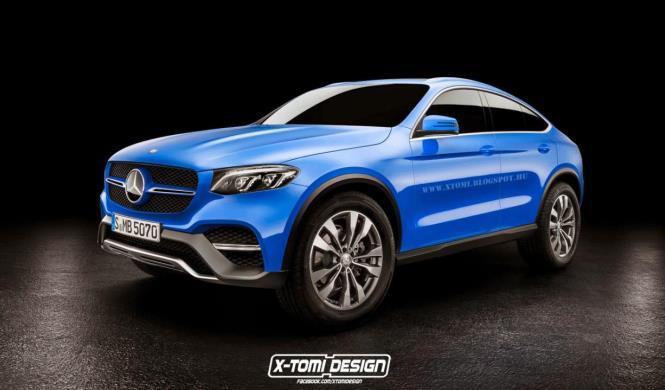 Así podría ser el Mercedes-Benz GLC Coupé de producción