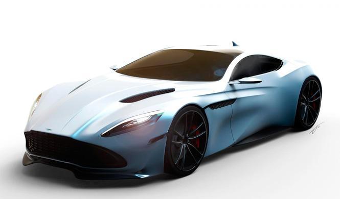 Primer render del Aston Martin DB11: un juego de niños