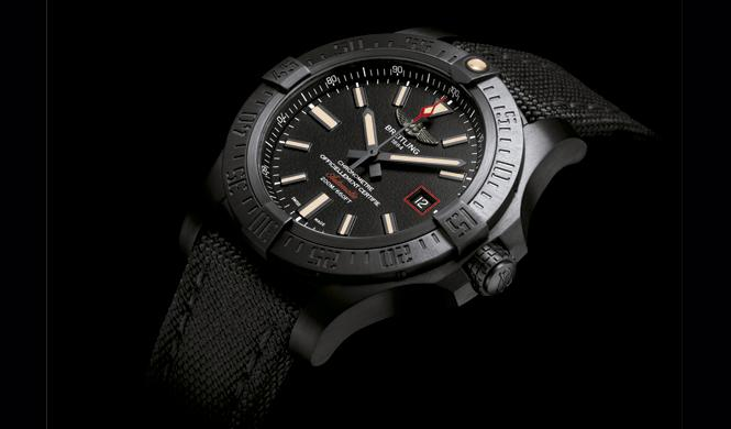 Nuevo Breitling Avenger Blackbird 44: alas de titanio negro