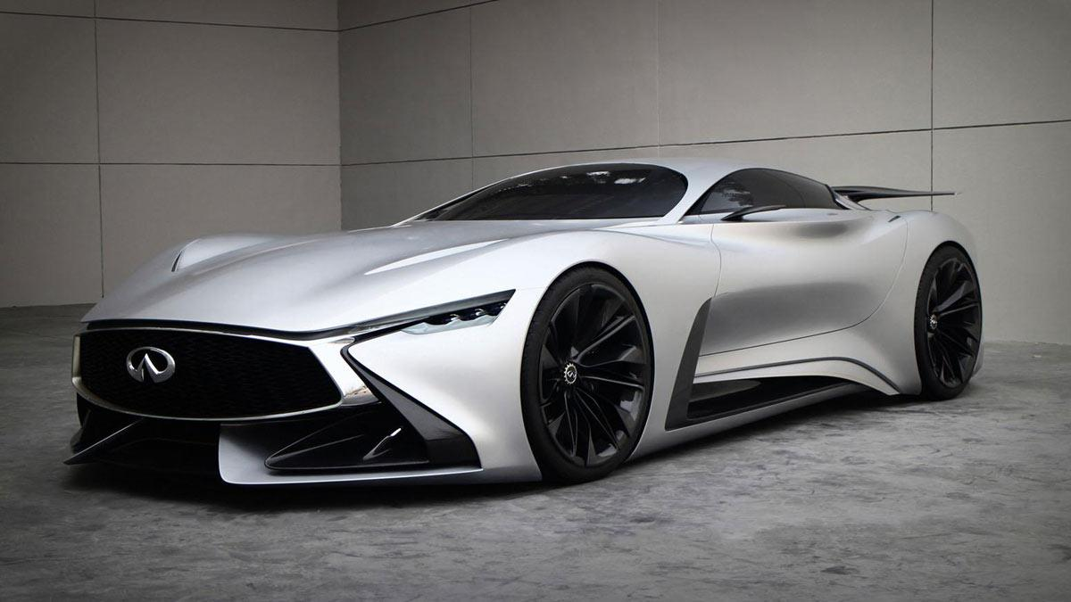 Infiniti Concept Vision GT real