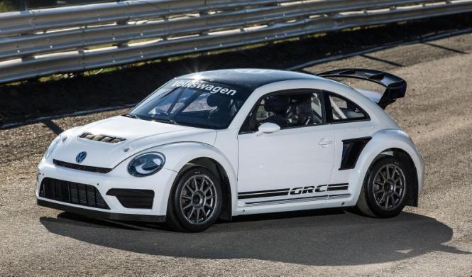 Volkswagen Beetle GRC: para el mundial de Rallycross
