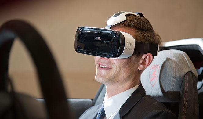 Prueba virtualmente un Lamborghini con las Samsung Gear VR