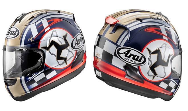 El casco del TT de la Isla de Man
