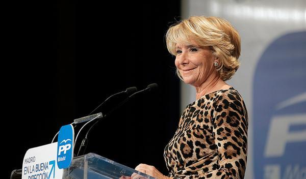 Esperanza Aguirre no restringirá el tráfico en Madrid