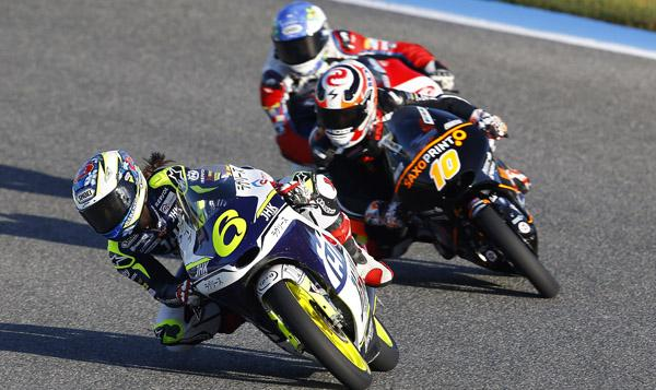 Parrilla de salida Moto3 GP de España 2015