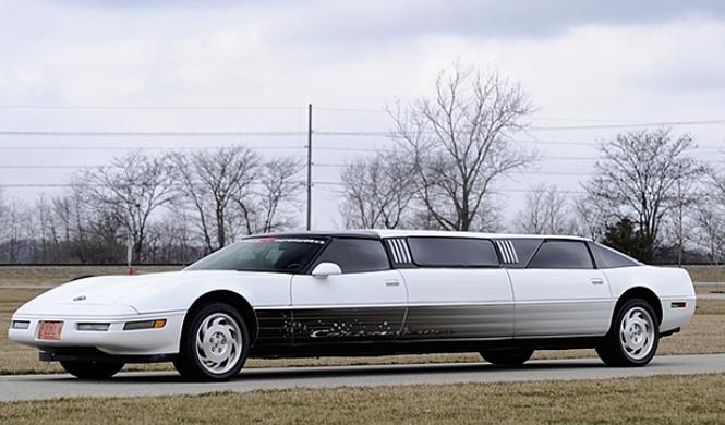 A la venta un Corvette C4 convertido en limusina