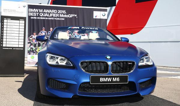 ¿Qué piloto de MotoGP se llevará este BMW M6 Cabrio?