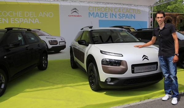 Citroën, con Alberto Contador en la V Marcha Cicloturista