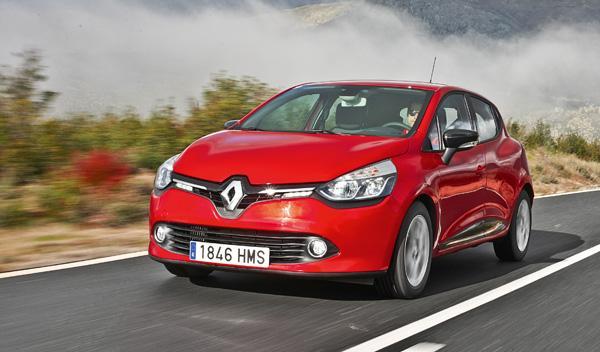 Renault Clio tres cuartos delantero