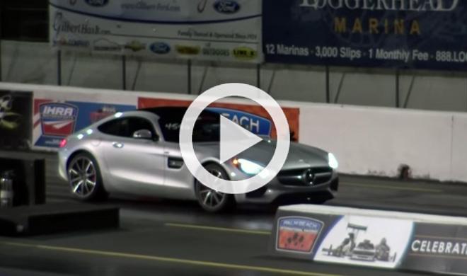 Mercedes AMG GT S: su primer cuarto de milla