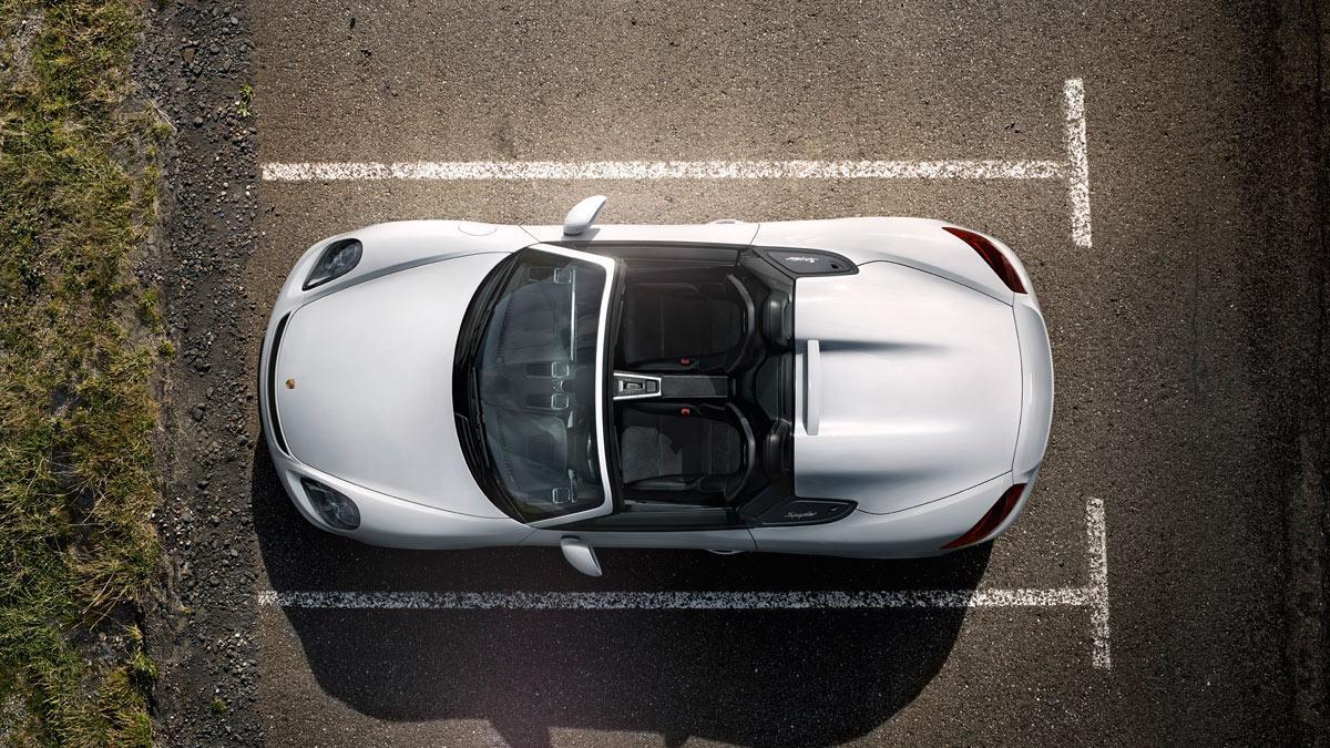El Porsche Boxster Spyder, cazado sin camuflaje