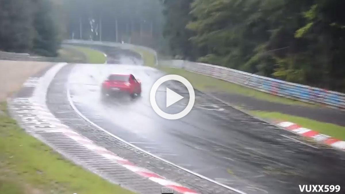 ¿Victoria o fracaso? Mazda RX-8 casi la lía en Nürburgring