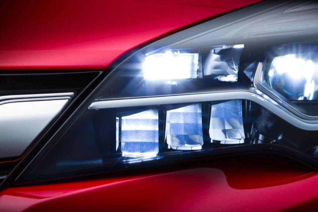 Sistema de iluminación LED matricial IntelliLux.