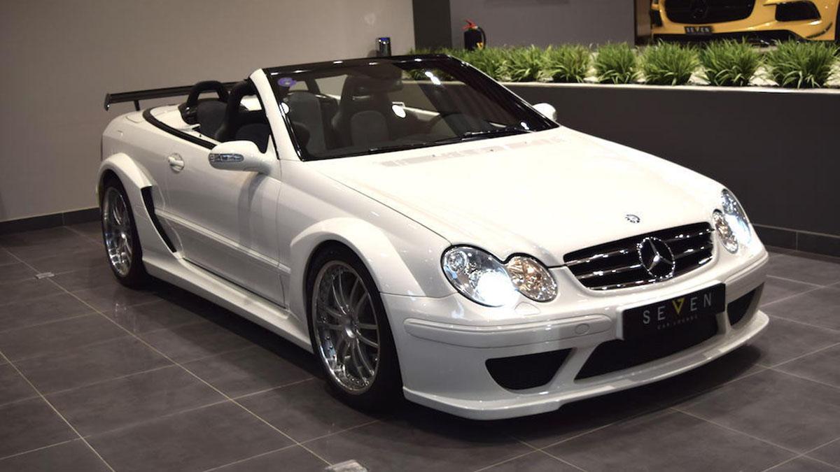 A la venta un Mercedes CLK DTM AMG Cabrio, ¡con 9.400 kms!