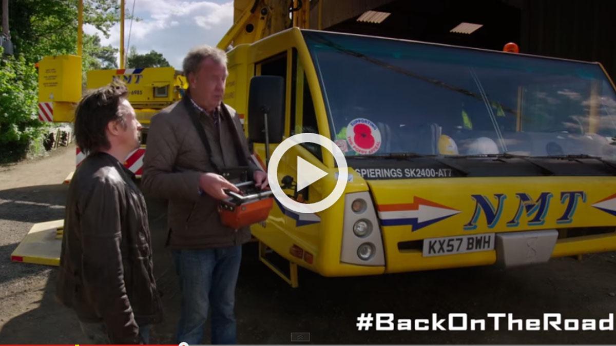 Clarkson, Hammond y May vuelven: vídeos de #BackOnTheRoad