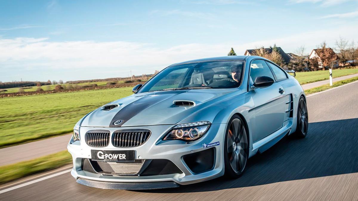 BMW M6 G-Power delantera