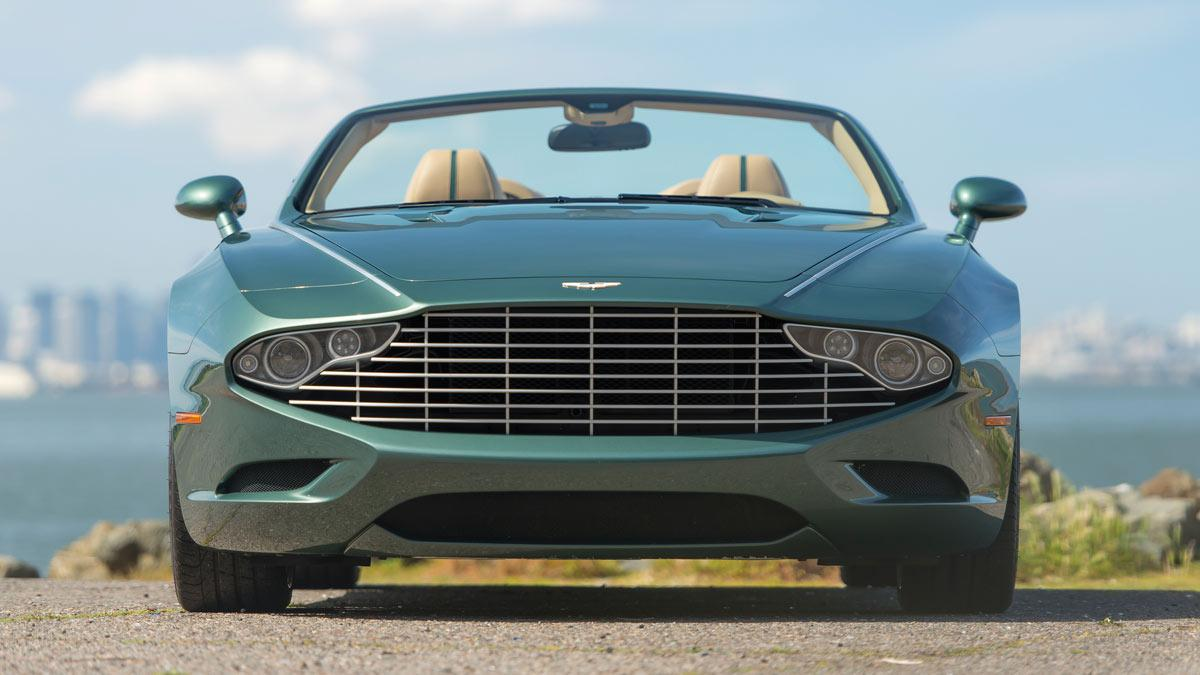 Aston Martin DB9 Spyder Zagato frontal