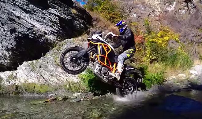 Vídeo ¿Sabes de qué es capaz una KTM 1190 Adventure R?