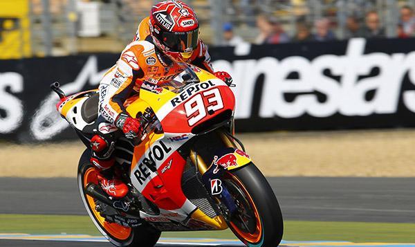 Clasificación MotoGP GP de Francia 2015: pole de Márquez