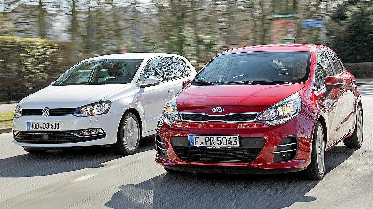 Kia Rio contra Volkswagen Polo