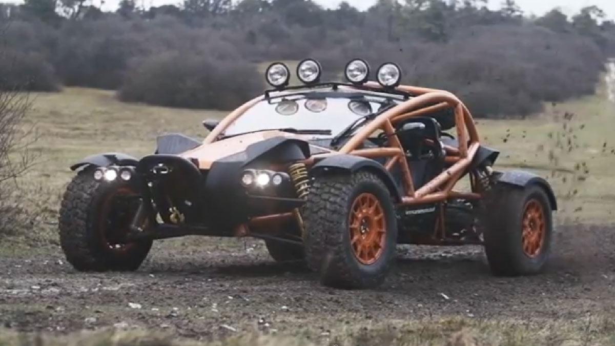 Top Gear prueba el 'buggy' más radical: el Ariel Nomad