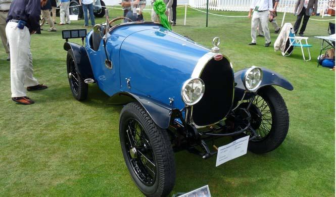 Sacan a subasta un Bugatti Brescia