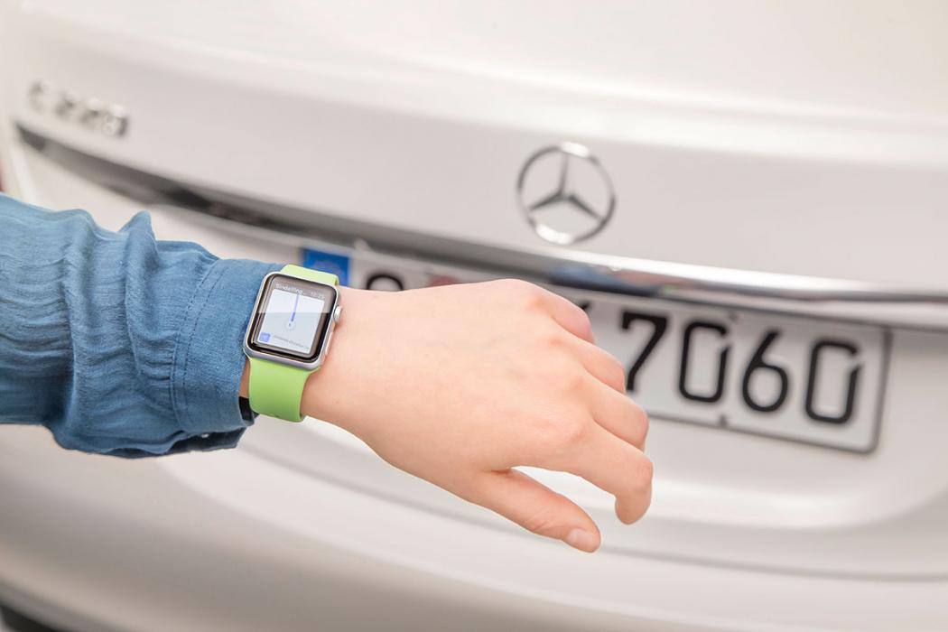 Aplicación de Mercedes-Benz para Apple Watch