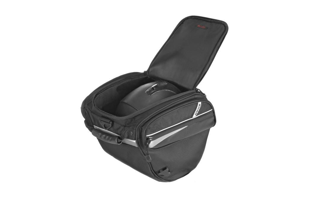 Ésta es la bolsa SHAD para túnel central de scooter
