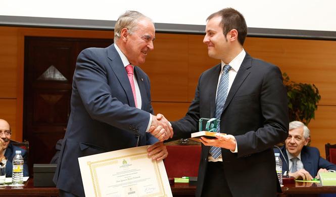 Ignacio Rada, un ingeniero de premio