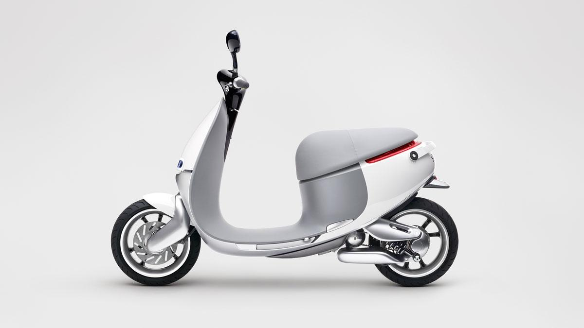 gogoro scooter electrico taiwán lateral