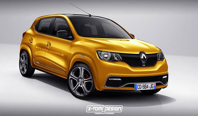 Así sería el nuevo Renault Kwid vestido de RS