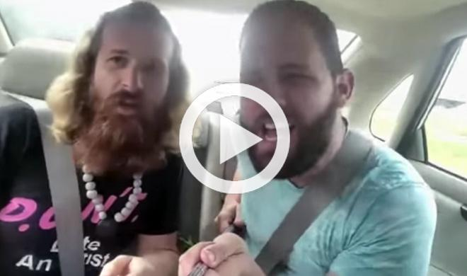 Un 'selfie' en un coche acaba en accidente