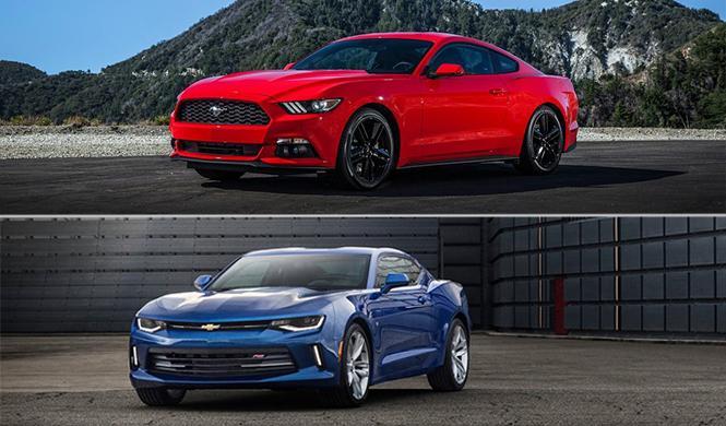 Camaro vs Mustang: países donde se venderá uno y no otro