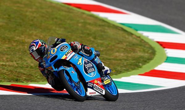 Libres 3 Moto3 GP de Italia 2015: Quartararo coge la cabeza