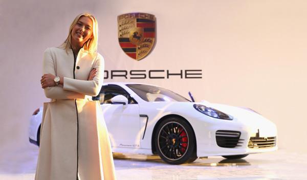 Porsche Panamera GTS 'by María Sharapova'