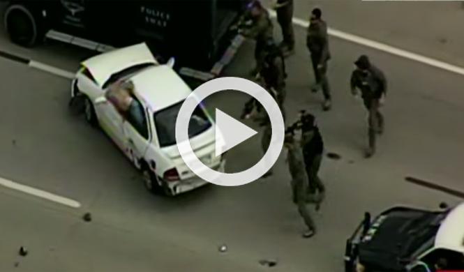 ¿La persecución policial más lenta de todos los tiempos?