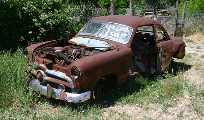 Claves para fotografiar coches abandonados