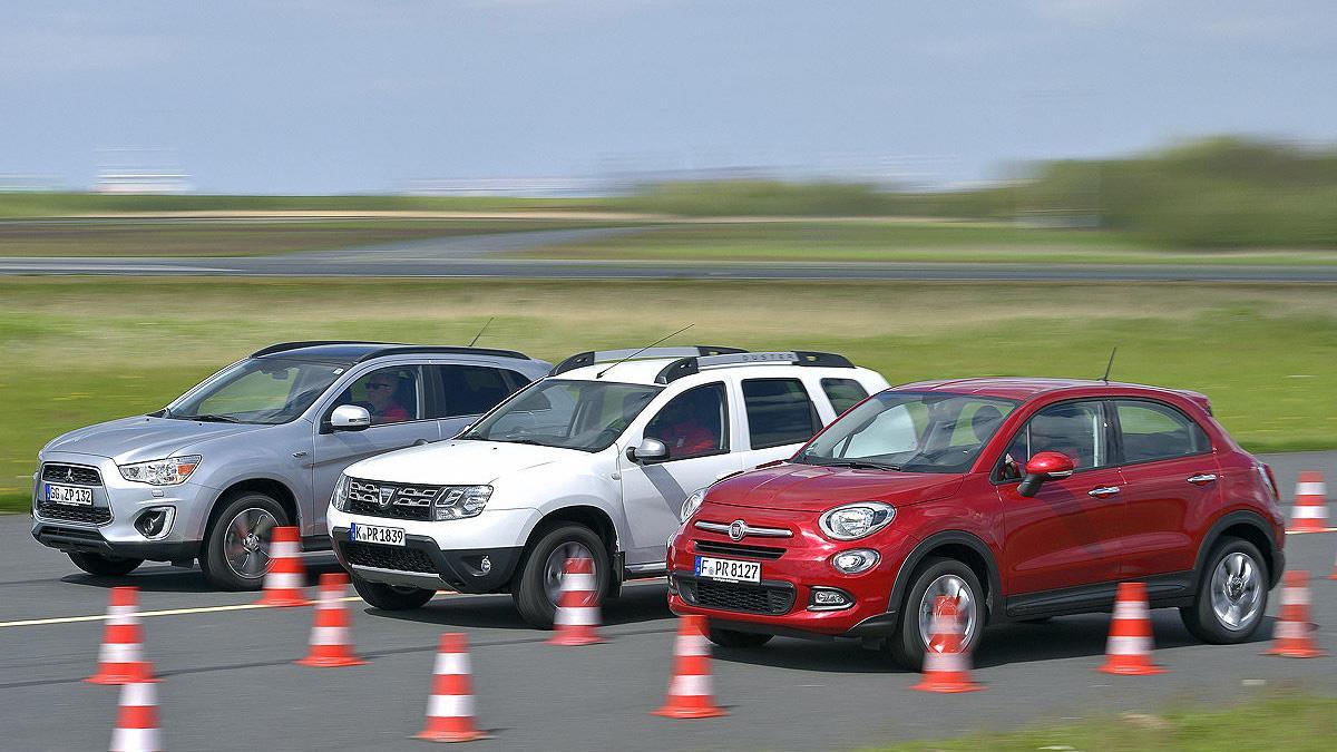 Dacia Duster/Fiat 500X/Mitsubishi ASX