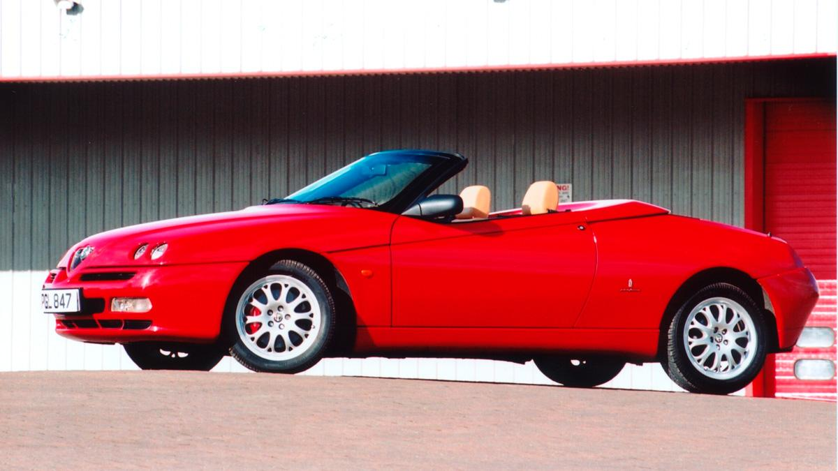 Alfa Spider lateral