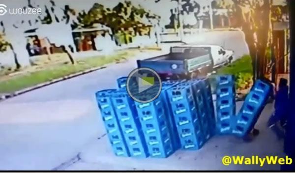 El peor transportista de cerveza de la historia
