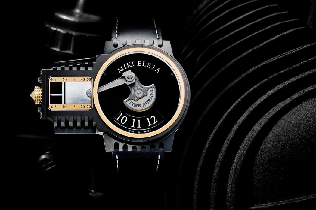 Reloj Timeburner by Miki Eleta