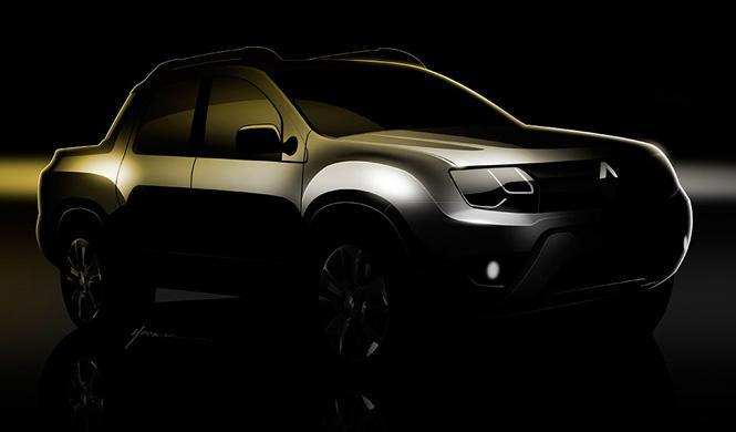 Renault pick-up
